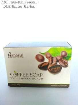 Sabun Kopi Scrub BPOM Aman Hanasui Coffee Soap- Avanza - Kijang