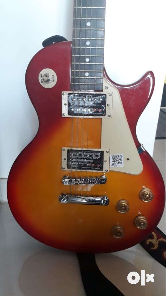 Electric Guitar Epiphone 100 FREE Guitar Tuner and Amp Wire 0