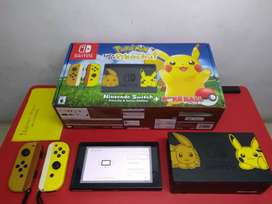Nintendo Switch Pokemon Lets Go pikachu edition