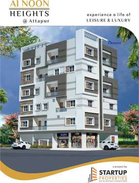 2Bhk Flats for Sale at attapur pillar no.241, Near Main Road, Book Now