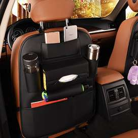 Leather Car Storage Bag RGB Footwell Strips & RF remote control can be