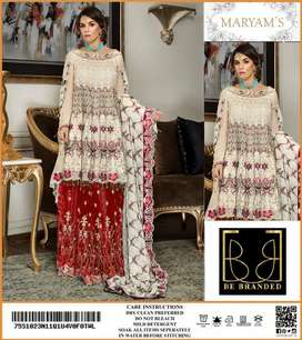 Embroidered Lawn 3 pcs suit