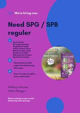 SPG dan SPB reguler