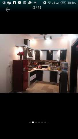 Portion for sale azizabad block 8