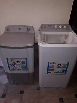 Very good condition dry and washing machine