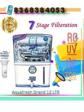 New Aquafresh RO UV UF TDS Season Sale with fitting and installation.