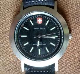 New Swiss Hill Gents Wrist Watch