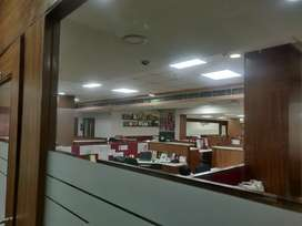 Office space lent out to axis Bank with 15 years lease