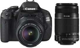 Canon 600d + kit lens + 50MM (free)