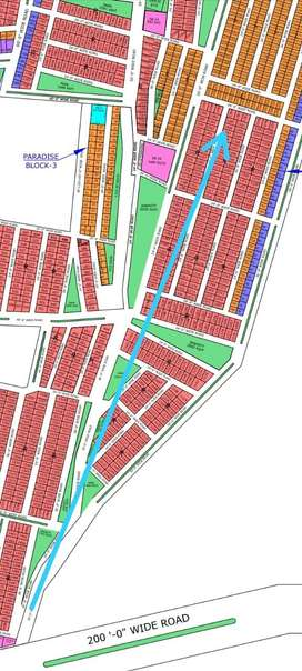 Plot 120 Sq-Yd on Instalment in North Town Residency Phase-I