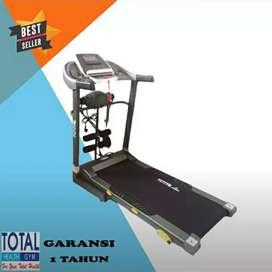 Alat olahraga & fitness // Treadmill tiga fungsi