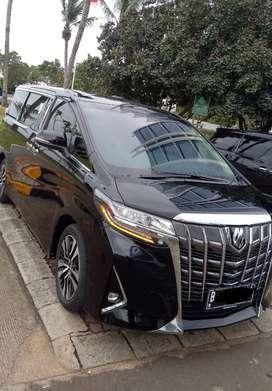 Dijual Toyota Alphard kondisi seperti baru