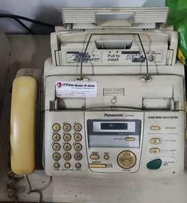 Mesin Fax Panasonic KX-FP152 masih hidup