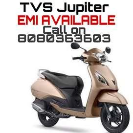 TVS JUPITER AVAILABLE ON EMI