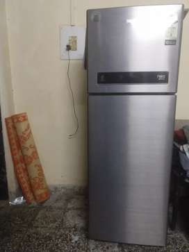 Whirlpool double door fridge in excellent condition..1.5y old