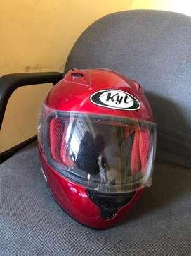 Helm KYT RC Seven (Merah) FullFace