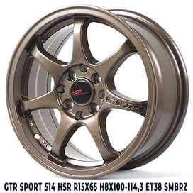 velg model GTR SPORT Ring 15