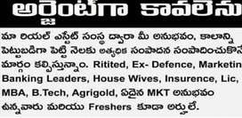 wanted WellEstablish company VIVAN INFRARealEstate MRG Leaders Madapur