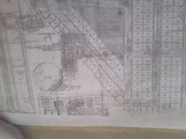 A selling plot of 1751 m sq.  In sawangi.