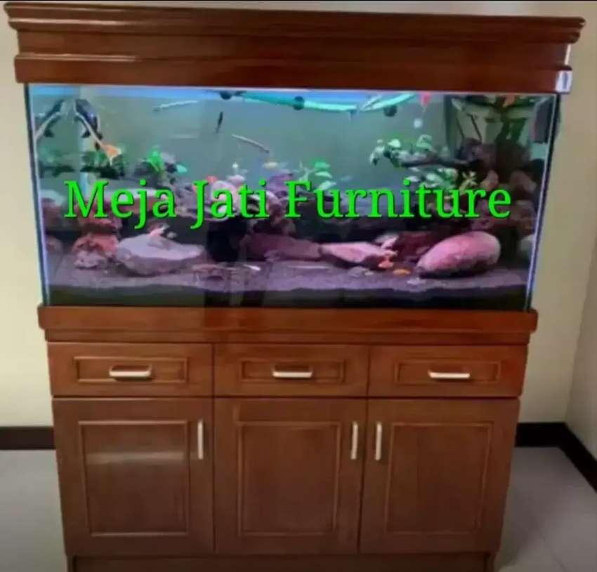 Meja Aquarium bifed Minimalis D460 talk
