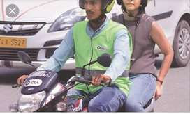 Ola bike taxi work (flexible timing)