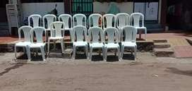 White chairs for sell