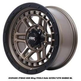 Jual velg racing HSR Ring 17 Untuk mobil Hilux, Ranger(bisa credit)