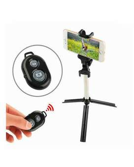 Bluetooth Selfie Stick With Mini Tripod