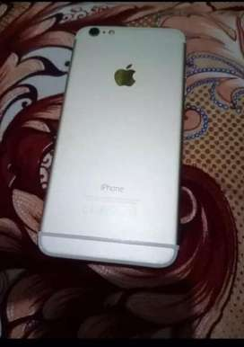 Iphone 6plus silver black 64 gb for sell