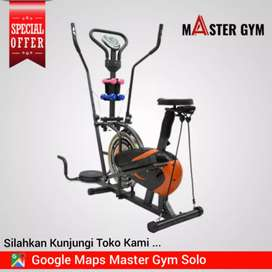 Sepeda Statis 5in1 - Alat Fitness - MG Sports Mg/8710