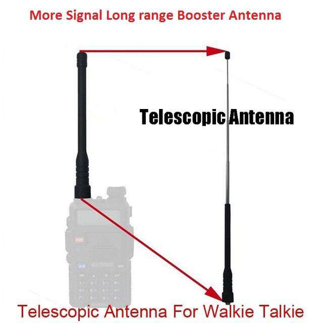 Walkie Talkie Telescopic Long Range Antenna for  Wireless 2 way radio