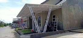 Kanopi Atap rumah minimalis kanopi pagar tralis baja ringan dan garasi