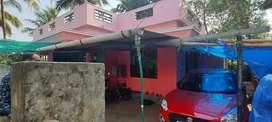 തൃശ്ശൂർ കൊട്ടേക്കാട് കോളങ്ങാട്ടുകര  2 bhk വീടു വില്പനക്ക്  26lk