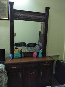 Bed, Dressing Table, Side Tables