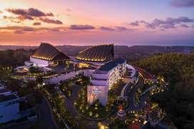 DIJUAL HOTEL RENAISSANCE BALI ULUWATU  BALI FULL VIEW SUNSET DAN LAUT