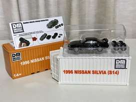 Diecast Nissan Silvia S14 1:64
