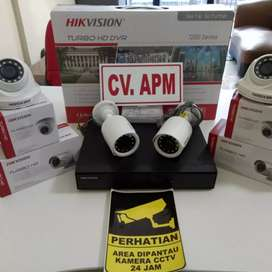 PAKET KAMERA CCTV AHD DAN HIKVISION TERMURAH PLUS PASANG DI TEMPAT.