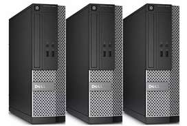 Dell,hp,lenovo cpu with i3 2nd processor available