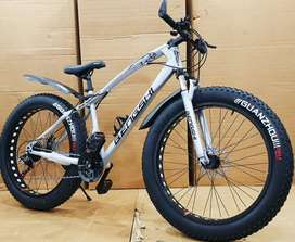 Fat Tyre New Sports Cycle with 21 Speed Shimano Gears 2020 Model