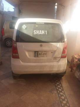 Suzuki Wagon R 2014 model outclass condition