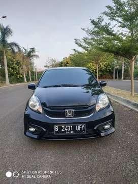 Honda New BRIO E CVT 2018 Hitam Km 18rb Istimewa Tdp Rendah