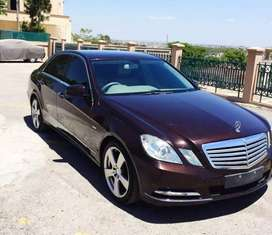 Mercedes E250 available for rent