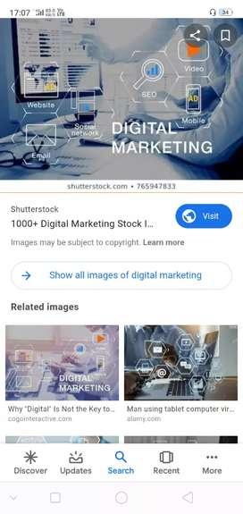 Expert in degital marketing