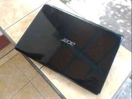 Notebook Acer v5 hitam