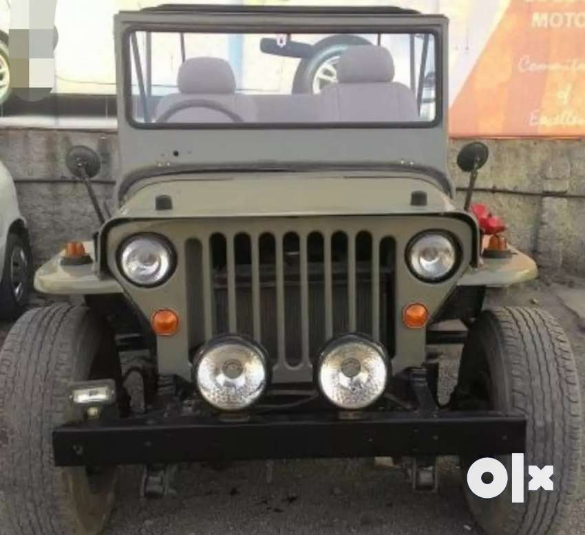 Modified jeep 0