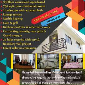 Flat available for sale in GULSHAN