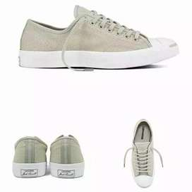 Converse Jack Purcell Heavy Canvas Pale Grey Original