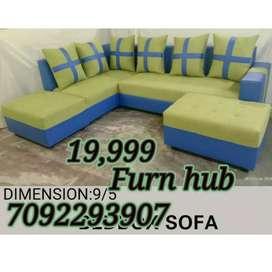 Classy new model bed Cum sofa set