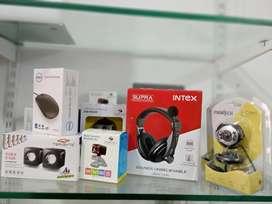 Hot Sale On Laptop Accessories Mouse ,Webcam ,Speakers ,Headphones.