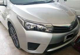 Toyota Corolla GLi 1.3 VVTi 2014 Easy monthly installments pe hasil
